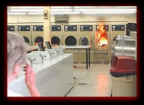 Dryer on Fire