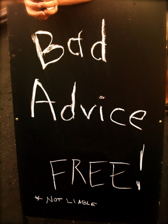 BAD ADVICE FREE