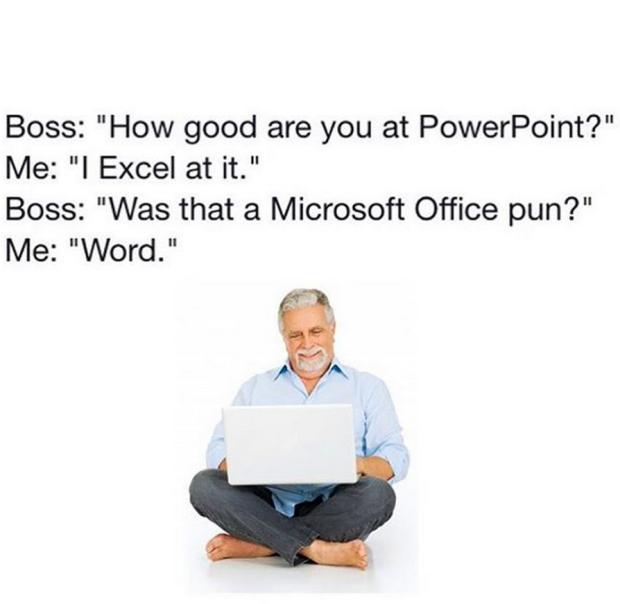 Microsoft Pun